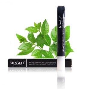 Маркер для бровей Лаборатория красоты Nivali фото