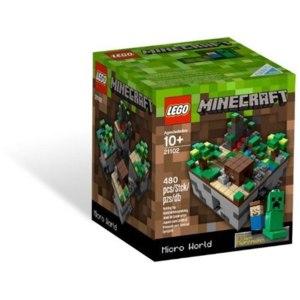 Lego Minecraft, Micro World 21102 фото