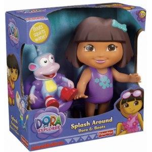 Fisher-Price Dora The Explorer Splash Around and Bootsr (Даша Путешественница и Башмачек) фото