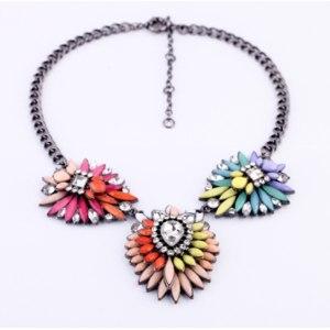 Ожерелье Aliexpress Fashion bohemia multicolour necklace XL423 фото