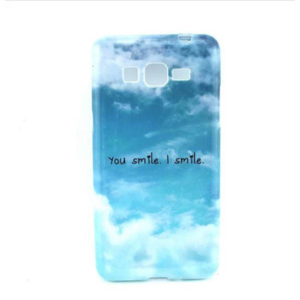 Бампер для смартфона Aliexpress Wavors Simple Design You Smile I Smile TPU Case Cover for Samsung Galaxy Grand Prime SM-G530 free shipping фото