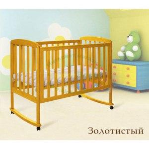 Кроватка КубаньЛесСтрой (Лель) Василек без ящика 18.0 фото