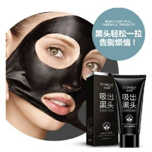Маска-пленка для кожи лица Aliexpress Face Care Suction Black Mask Facial Mask Nose Blackhead Remover Peeling Peel Off Black Head Acne Treatments Better Than PILATEN фото