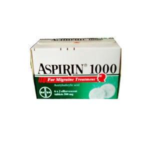 Болеутоляющие средства Bayer Аспирин 1000 фото