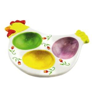 Пасхальная декоративная тарелка Fix Price Арт. YJ040160704 фото