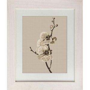 """Набор для вышивки крестом B291 """"Орхидея"""" фирмы Luca-S фото"""