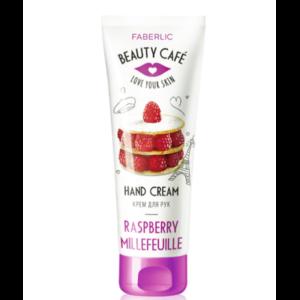 Питательный крем для рук Faberlic «Малиновый мильфей» Beauty Cafe фото