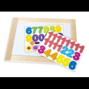 Доска двухсторонняя обучающая Десятое Королевство «Веселые цифры» 36,5см х 26,5см фото