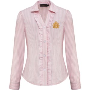 Блузка Faberlic 116G2602 с длинными рукавами для девочки, цвет светло-розовый фото