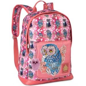 Рюкзак Faberlic Артикул 9580 «Сова» розовый фото