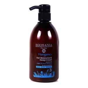 Крем для сухих и окрашенных волос Egomania Увлажняющий, моделирующий с маслом арганы фото