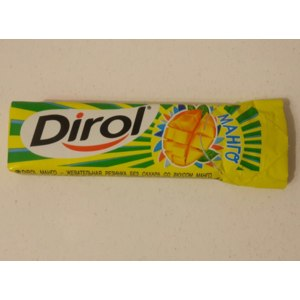 Жевательная резинка Dirol Манго фото