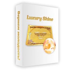 Маска для лица  Luxury Shine коллагеновая фото