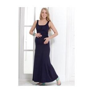 21a00fe6b1f43 Одежда для кормящей мамы I love mum Платье ПВ04 темно-синее   Отзывы ...