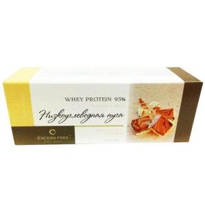 Низкоуглеводная нуга Excess free Вкус кокоса и шоколада Whey Protein 95% фото