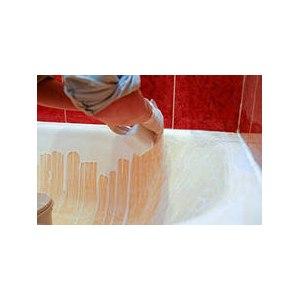 Покрытие ванны эмалью фото