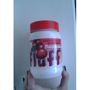 Зефирная паста Durkee Artificial Flavour Strawberry Fluff фото