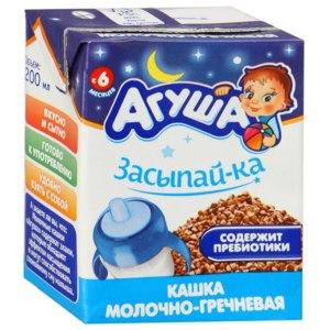 Каша Агуша Засыпай-ка Молочно-гречневая фото