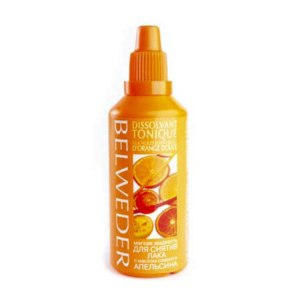 Жидкость для снятия лака Belweder с маслом сладкого апельсина фото
