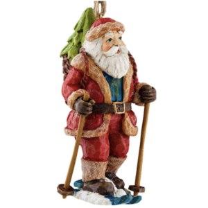 ErichKrause Decor Новогоднее украшение Санта на лыжах Арт.27584 фото