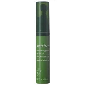 Крем для кожи вокруг глаз Innisfree Интенсивный увлажняющий с шариковым аппликатором на основе семян зелёного чая  фото