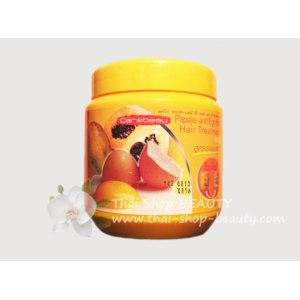 Маска для волос Carebeau восстанавливающая с папайей и яйцом фото