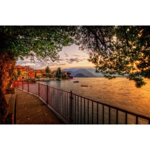 Италия, Ломбардия, озеро Комо фото