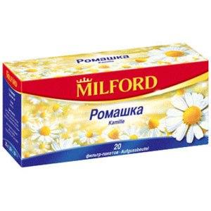 Чай  Milford Травяной Ромашка фото