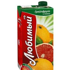 Нектар Любимый Грейпфрут и лимон фото