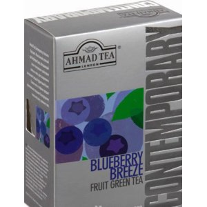 Чай зеленый AHMAD Tea Contemporary Blueberry Breeze фото