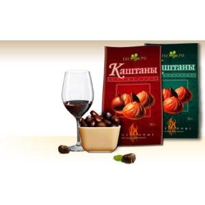 Орехи Эколини Каштаны запечёные фото