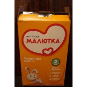 Детское питание Nutricia Молочная смесь Малютка 2 с шести месяцев фото