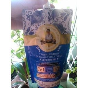 Бальзам для волос Рецепты бабушки Агафьи Удивительный бальзам-уход Агафьи. Березовый. фото