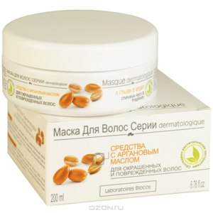 Маска для волос Laboratoires Biocos с аргановым маслом фото
