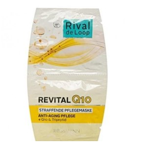 Маска для лица Rossman  Q10 Rival de Loop Revital Q10 Straffende Pflegemaske фото