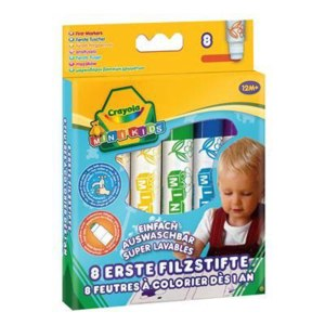 Crayola Фломастеры на водной основе для самых маленьких фото
