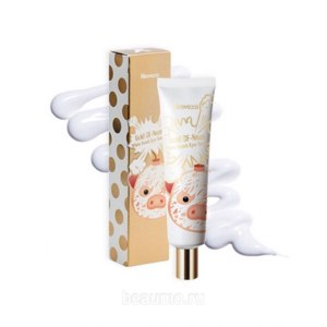 Крем для век Elizavecca Gold CF Nest White Bomb Eye Cream фото