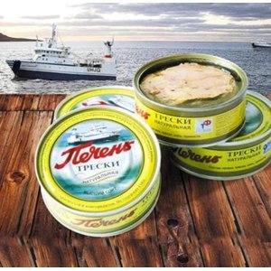 Печень трески Мурманский траловый флот Натуральная фото