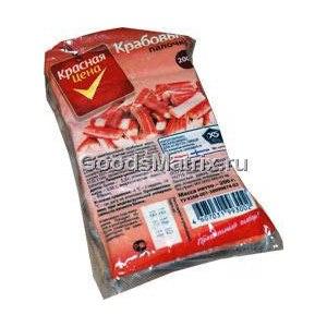 Крабовые палочки Красная цена  фото