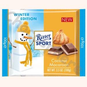 Шоколад Ritter Sport Coconut Macaroon фото