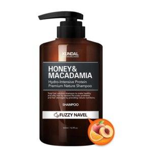 Бессульфатный шампунь Kundal Honey & Micadamia Fruzzy Navel фото