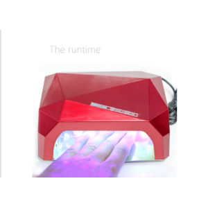Гибридная лампа для полимеризации гель лака Aliexpress 36W UV Lamp LED Ultraviolet Lamp UV Nail Dryer Nail Lamp Diamond Shaped CCFL Curing for UV Gel Nails Polish Nail Art Tools-1006 фото