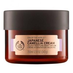 Крем для тела The body shop Japanese Camellia Cream фото