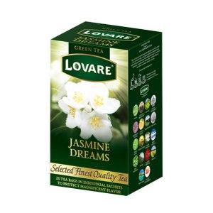 Чай зеленый Lovare Jasmine Dreams Жасминовые Грезы фото