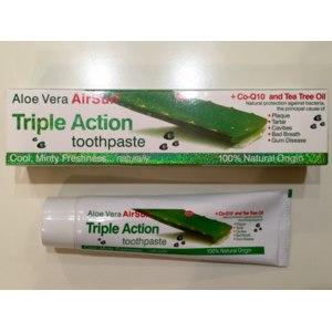 "Зубная паста Хуа Бей Интл Трейдинг ""Aloe Vera AirSun Triple Action"" фото"