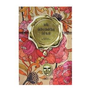 Тканевая маска для лица No:hj Golden modelling foil mask c гиалуроновой кислотой и золотом  фото