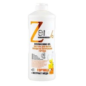 Средство для мытья посуды ZERO Эко гель Zero% на натуральной горчице фото