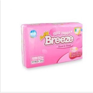 Подгузники Breeze Diapers Step Liz L50 фото