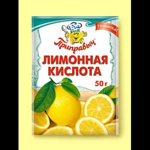 Лимонная кислота пищевая Приправыч  фото