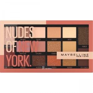 Палетка теней для век MAYBELLINE Nudes of New York  фото